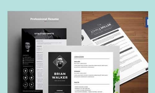Simple & Clean Resumes