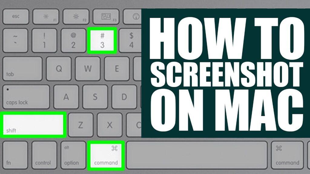 How to screenshot on mac step by step